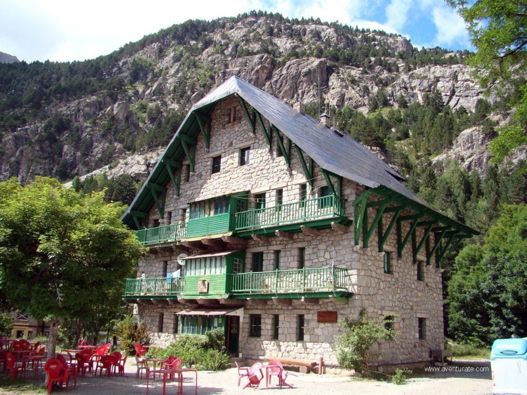 Casa de Piedra en el Pirineo Aragonés