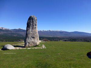 Monumento al guarda forestal en Valle de Lozoya