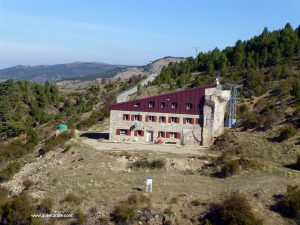Refugio de Rabada y Navarro en la Sierra de Javalambre