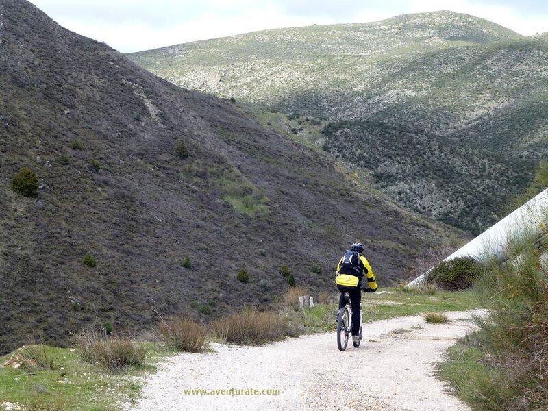 Canales y Sifones en bici
