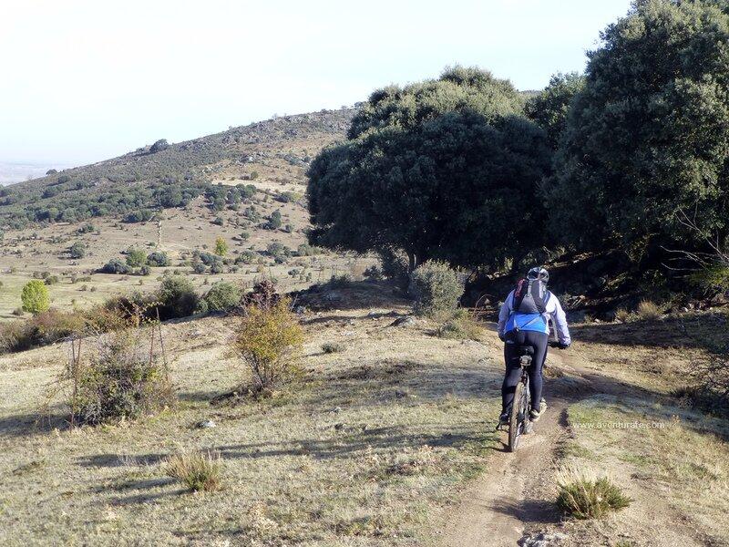 Travesia Cercedilla-Segovia en btt