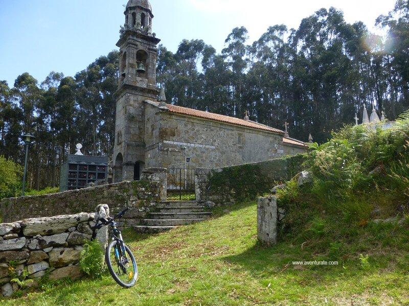 Faro de Touriñan en btt