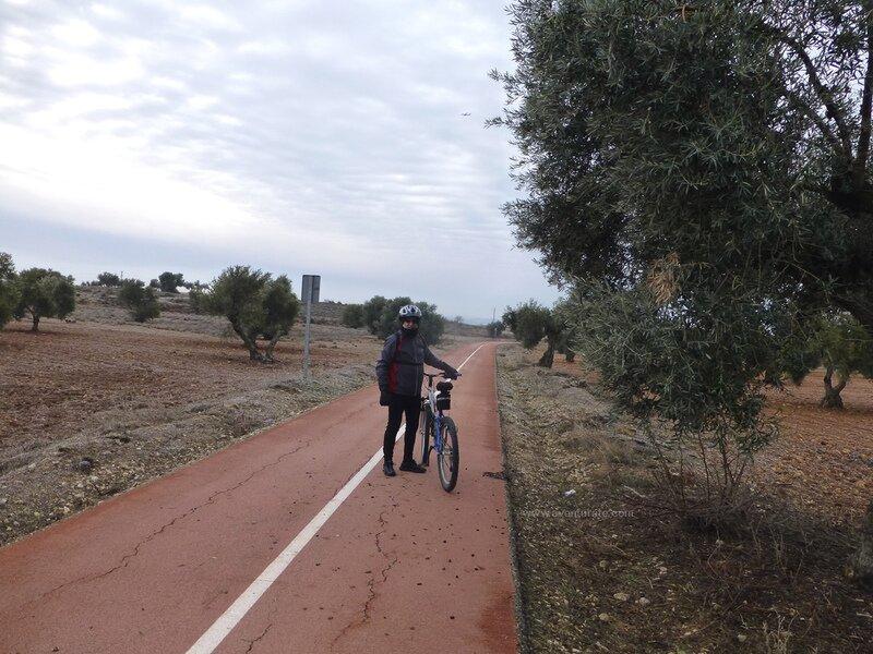 Via Verde del Tajuña en btt